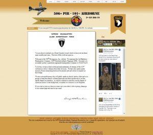 506th Airborne Website Image