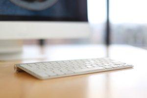 Monitor and Keyboard Image