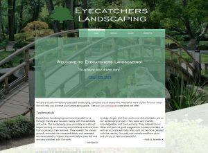 Eyecatchers Landscaping Website Image