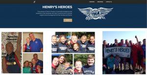 Henry's Heroes Website Image