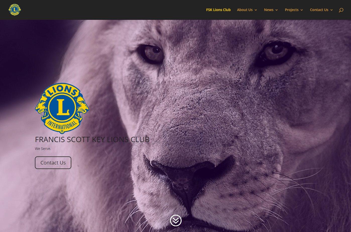 FSK Lions Club Website Image
